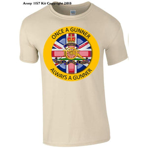 Royal Artillery - S / Once A Gunner