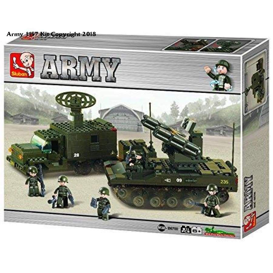 Sluban Rocket Launch System Army Building Kit (511-Piece) - Plastic / 1 / 1 - Toy
