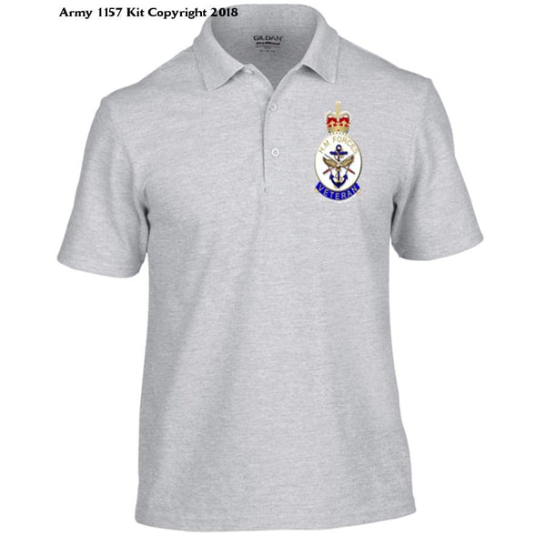 Veterans Polo Shirt - S / Grey - T Shirt