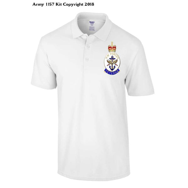 Veterans Polo Shirt - S / White - T Shirt