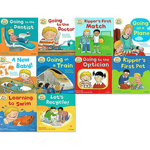 Biff, Chip and Kipper - First Experiences Collection - 10 Books