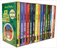 15 Classic Mysteries Books Set by Enid Blyton