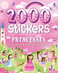 2000 Stickers Princesses : 36 Pink and Sparkly Activities! 貼紙書