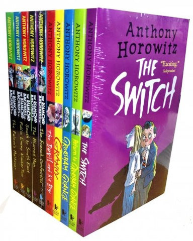 Anthony Horowitz's Wickedly Funny Collection - 10 Books