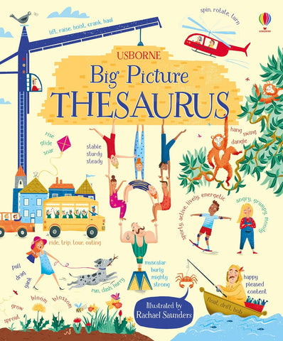 The Usborne: Big Picture Thesaurus