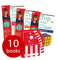 Carol Vorderman: Top of the Class KS2 Collection - 10 Books in a Satchel
