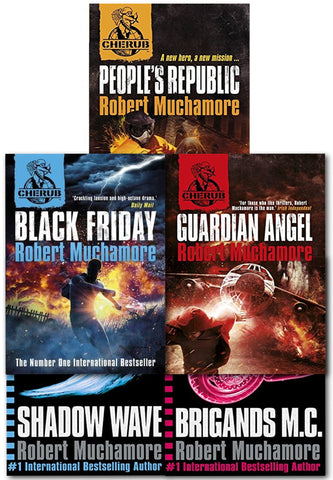 Cherub Series 3 Robert Muchamore Collection 5 Books Set