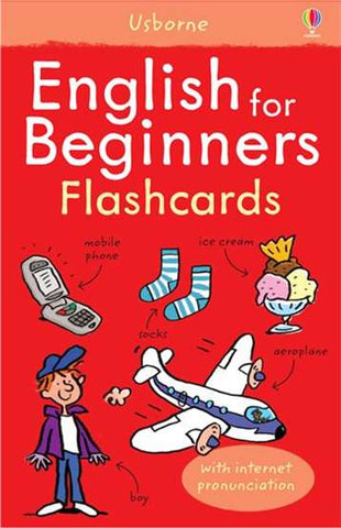 Usborne English Beginners Flash cards