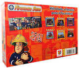 Fireman Sam 6 Books Collection Box - Gift Set Pack Fantastic Poster with Fun Stickers