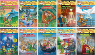 Geronimo Stilton 10 books Collection Series #41-50