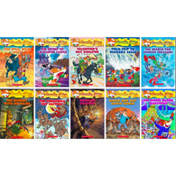 Geronimo Stilton 10 book Collection Series #21-30