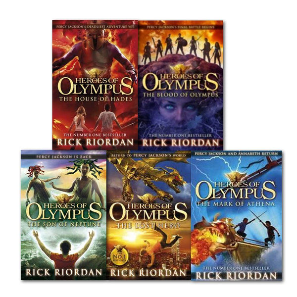 The Heroes of Olympus Collection - 5 Books