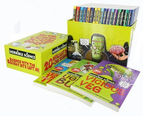 Horrible Science Collection 20 Brilliant Books In One Bulging Box