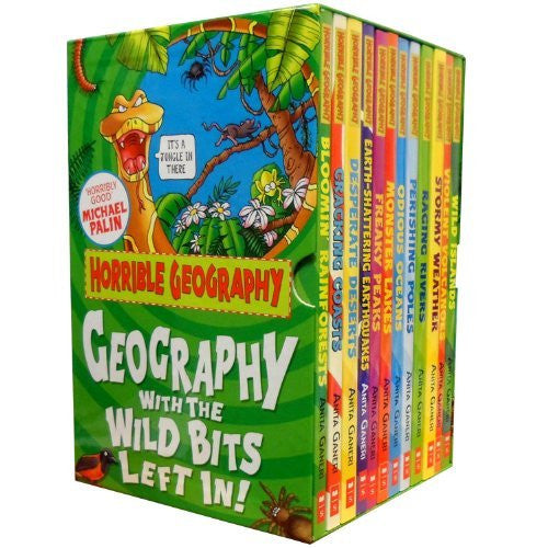 Horrible Geography Collection Anita Ganeri 12 Books Set