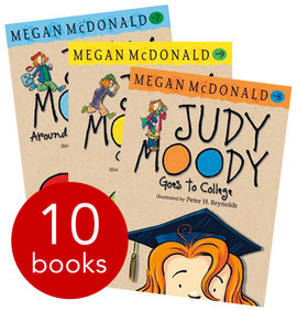 Judy Moody Collection - 10 Books By Megan McDonald