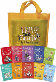 Happy Families Collection - 10 Books by Alla Ahlberg