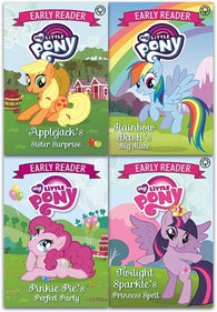My Little Pony Early Reader Collection 4 Books Set
