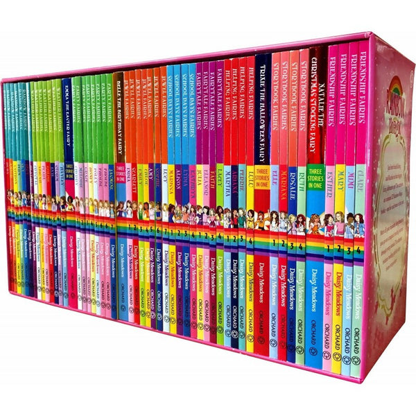 A Year of Rainbow Magic Boxed Collection - 52 Books