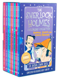 The Sherlock Holmes Children's Collection: Shadows, Secrets and Stolen Treasure 10 Books Box Set