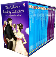 Usborne Reading Collection for Confident Readers - 40 Books Collection