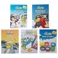 Disney Club Penguin: Sticker and Activity Collection - 5 Books