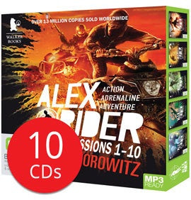 Alex Rider Missions 1-10 MP3 CD Collection - 10 MP3 CDs (Audio)