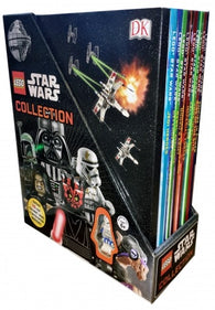 Dk LEGO Star Wars Collection 10 Books with Minifigure Gift Set Pack