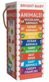 Bright Baby Book Tower: Animals