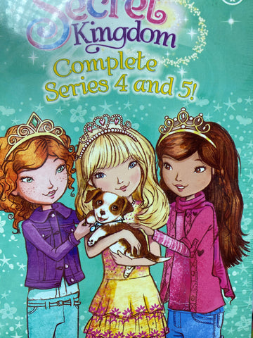 Secret Kingdom Complete Series 4 and 5 - 8 books