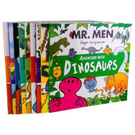 Mr Men Adventures Collection 10 Books