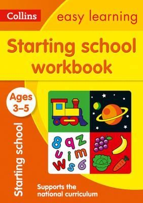 Starting School Workbook Ages 3-5 : Prepare for Preschool with Easy Home Learning