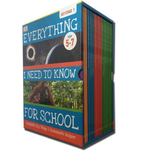 Everything I Need to Know for School Complete Keystage 1 Box set - 30 Books