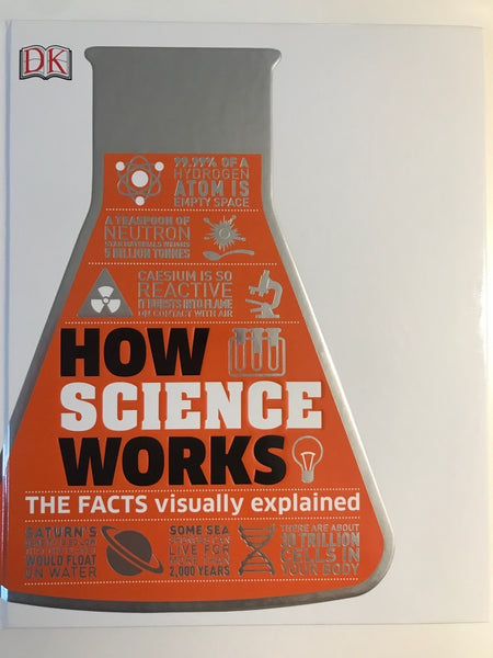 How Science Works : The Facts Visually Explained (Hardback) DK