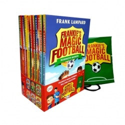 Frankie's Magic Football with Kitbag Collection - 12 Books