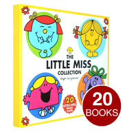 The Little Miss Collection Gift Set in a box - 20 Books by Roger Hargreaves