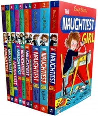 Enid Blyton Books - The Naughtiest Girl (Series 1 to 10) 10 Books Collection Set