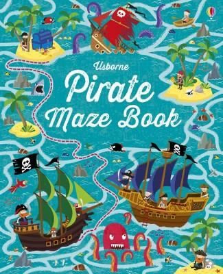 Pirate Maze Book Usborne