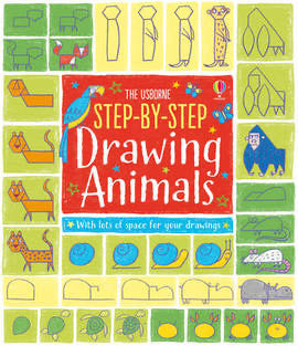 The Usborne Step-by-Step Drawing Animals (Paperback)