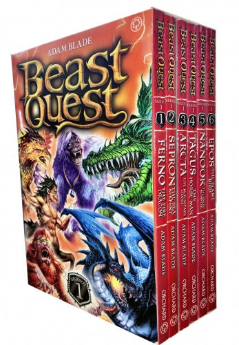 Beast Quest 1 - 6 books
