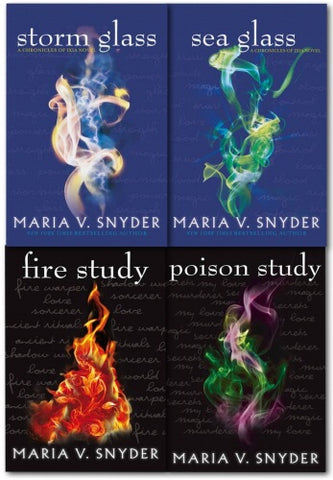 The Chronicles of Ixia Novel by Maria V. Snyder - 4 Books Collection  (Opal Cowan & Study Series Collection)