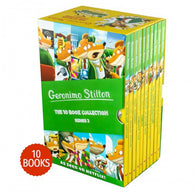 GERONIMO STILTON: 10 BOOK COLLECTION (SERIES 2) 11-20