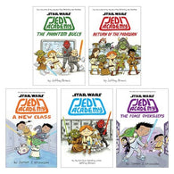 Star Wars Jedi Academy Graphic Novel Set (Books 1-5)
