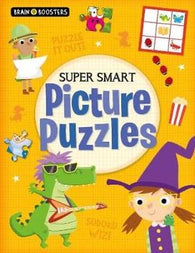 Brain Boosters: Super-Smart Picture Puzzles (Paperback)