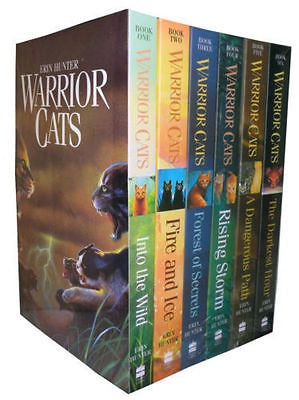 Warrior Cats Collection Erin Hunter 6 Books Set Pack Series 1
