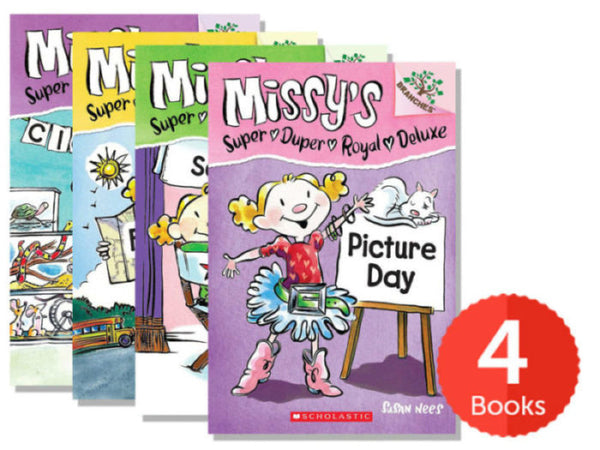 Branches Missy's Super Duper Royal Deluxe Pack (Books 1-4)