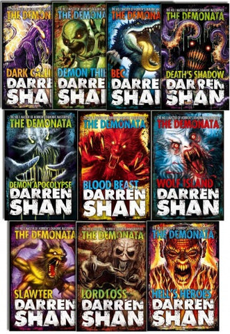 Demonata Collection 10 Books Set by Darren Shan