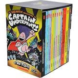 Captain underpants 12 books collection