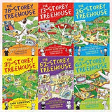 13 Storey Treehouse Collection - 6 Books by Andy Griffiths