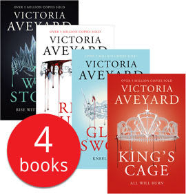 Victoria Aveyard's Red Queen Collection - 4 Books