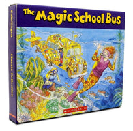 Magic School Bus Classic Box Set with CDs (6 books & 6 CDs)
